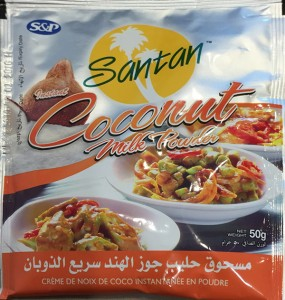 Santan Coconut Milk Powder Recall