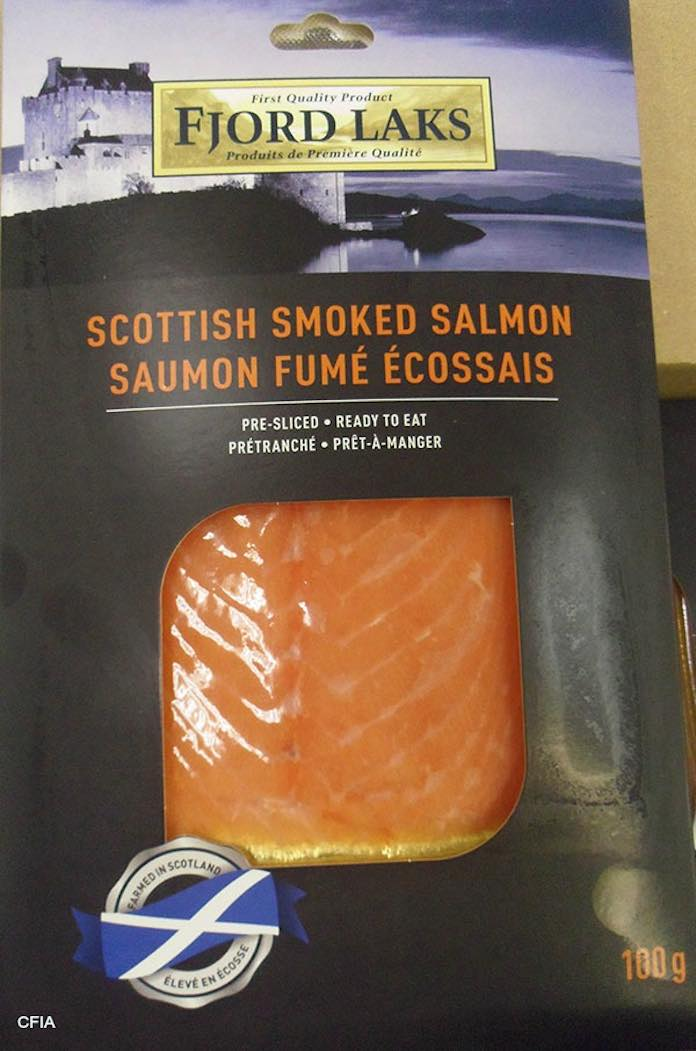 Scottish Smoked Salmon Botulism Recall