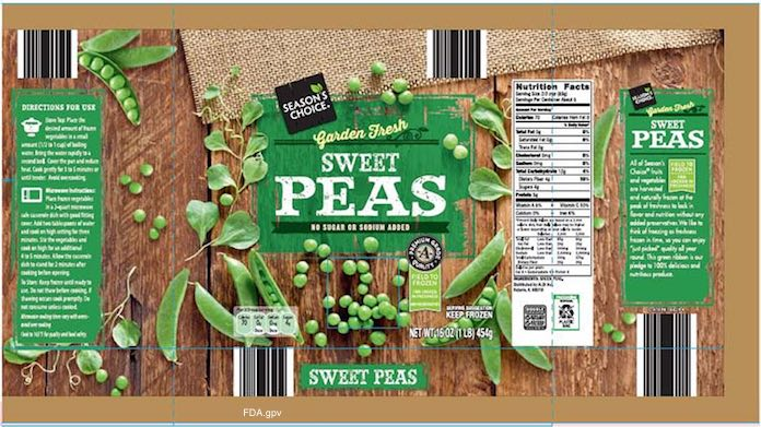 Season Choice Peas Listeria Recall