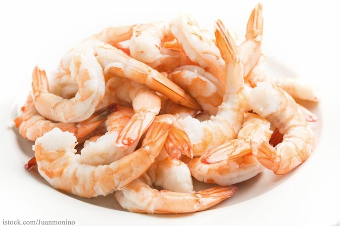 Shrimp in Dish