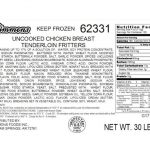 Simmons NRTE Chicken Products Recalled for Possible E. coli O121