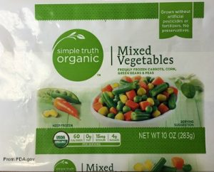 Simple Truth Vegetables Listeria Recall