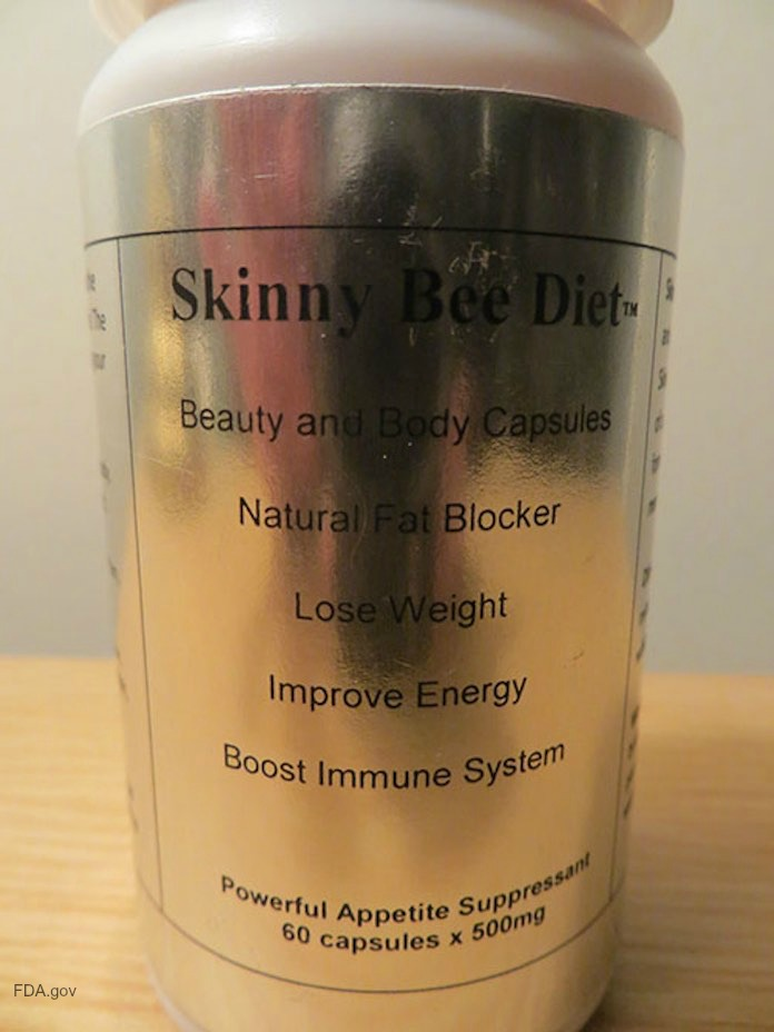 Skinny Bee Recall Unapproved Drug