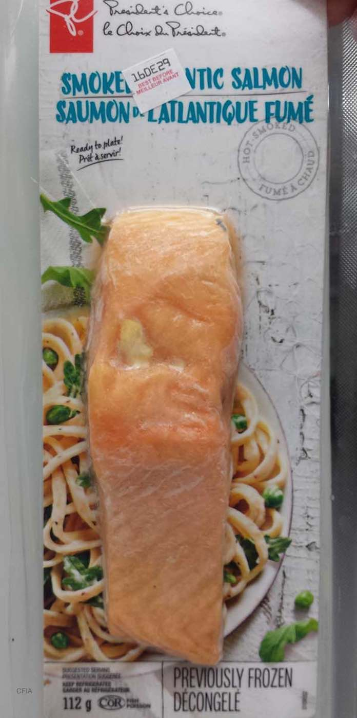Smoked Atlantic Salmon Botulism Recall