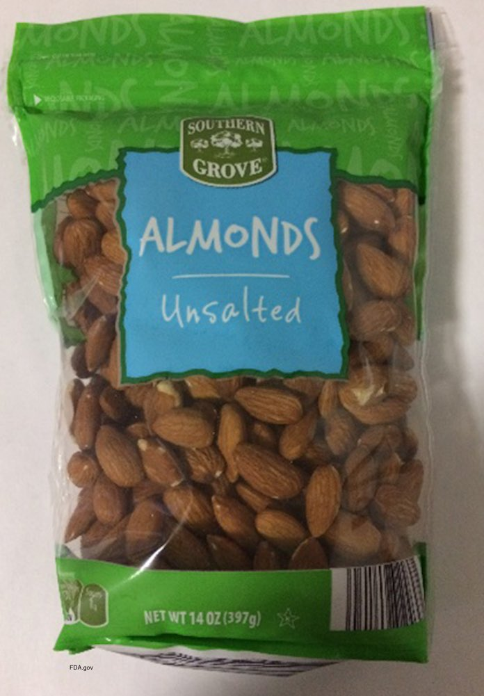 Southern Grove Almonds Recall