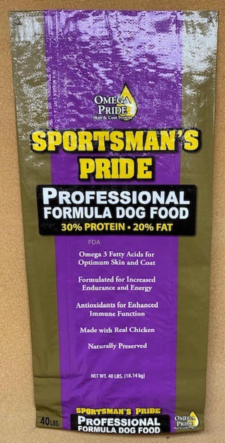 Sportsmans Pride Dog Food and Other Brands Recalled For Salmonella