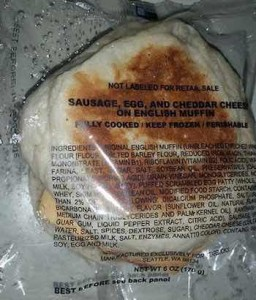 Recalled Starbucks Breakfast Sandwiches