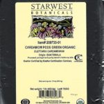 Starwest Botanicals Recalls Organic Whole Cardamom Pods for Possible Salmonella