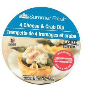 Summer Fresh Dip Recall Listeria Monocytogenes