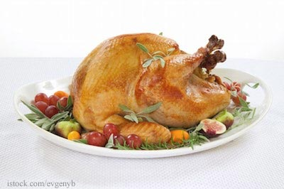 Thanksgiving Turkey Roasted