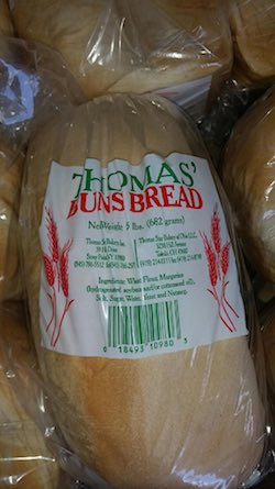 Thomas Buns Bread