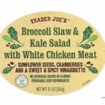 Public Health Alert for Listeria in Trader Joe's Slaw & Kale Salad