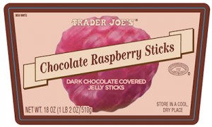 Trader Joe's Chocolate Raspberry Sticks Recall