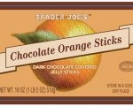 Trader Joe's Chocolate Orange and Raspberry Sticks Recall for Undeclared Milk