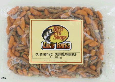 Uncle Bucks Cajun Hot Mix Recall