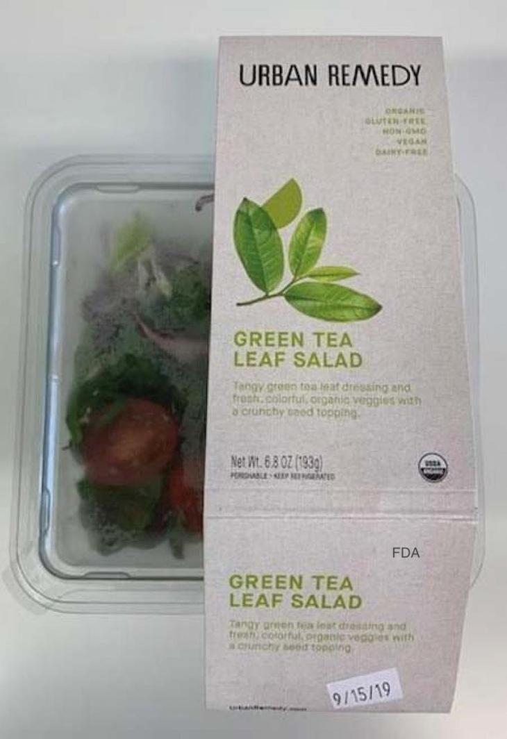 Urban Remedy Recalls Salads and Wraps For Possible E. coli