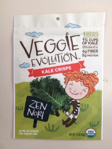 Veggie Evolution Kale Crisps Recall