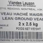 In Canada, Ground Veal Recalled for E. coli O157:NM