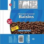 Walgreens Recalling Chocolate Covered Raisins for Undeclared Allergens