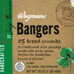 Wegmans Bangers Recalled for Undeclared Allergens