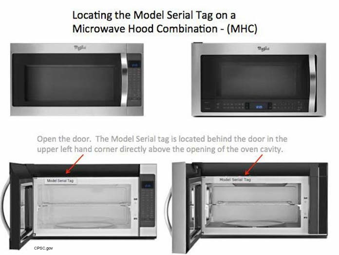 Whirlpool Recalls Microwaves For Fire Hazard