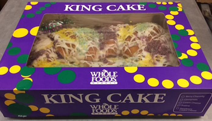 Whole Foods King Cake Recall