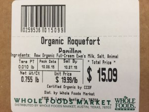 Whole Foods Roquefort Papillon Cheese Listeria Recall