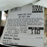 Whole Foods Recalls Spinach Orzo Salad for Allergen