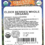 Organic Whole Elderberries Recalled For Possible Salmonella