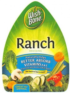 Wish-Bone Ranch Salad Dressing Egg Recall