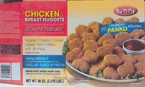 Yummy Chicken Nuggets Recall