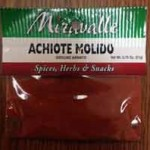 Achiote Molido Ground Annato Spice Recalled for Salmonella