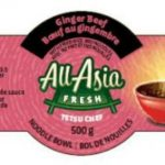 In Canada, Listeria Recall for All Asia Brand Rice and Noodle Bowls