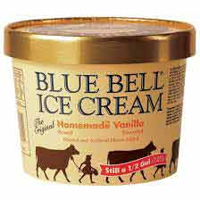 The third round of products recalled by Blue Bell were made in Broken Arrow, Oklahoma.