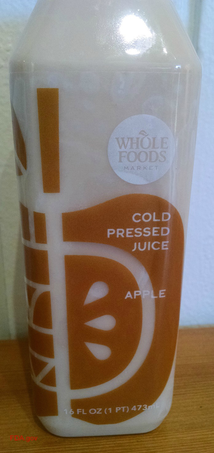 Whole Foods Apple Juice Recalled