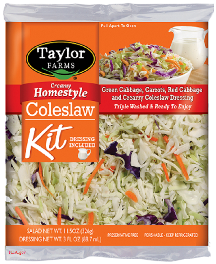 Taylor Farms coleslaw recall