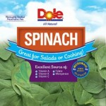 Dole Bagged Spinach Recalled for Salmonella Risk