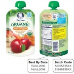 Gerber Organic Baby Food Pouches Recalled for Spoilage Risk