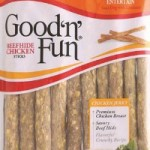 Good 'n' Fun Beefhide Chicken Sticks Recall for Salmonella Expanded