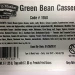 Green Bean Casserole Product Recalled for Undeclared Allergen