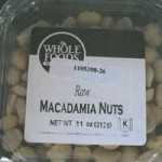 Whole Foods Recalls Macadamia Nuts for Salmonella