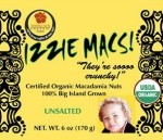 Izzie Macs, Baby Bruddah Macadamia Nut Products recalled for Salmonella