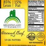 Cargill Recalls Meadowland Farms Ground Beef That May Contain Blue String