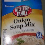 Western Family Onion Soup Mix Recall