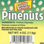 Pine Nuts Recalled for Salmonella