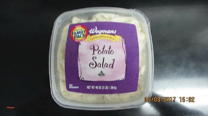 Wegmans Potato Salad Recalled for Undeclared Egg