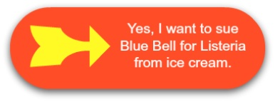 Sue Blue Bell for Listeria from ice cream