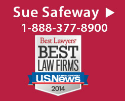 Sue Safeway - Recall Lawsuit