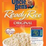One Lot of Uncle Ben's Ready Rice Recalled For Punctured Packaging