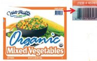 Watts Brothers Frozen Vegetable Listeria Recall Expanded